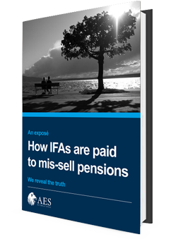 Free guide for How IFAs are paid to mis-sell pensions.