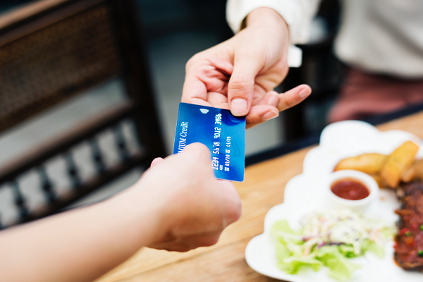 My credit cards readily available at the click of a button