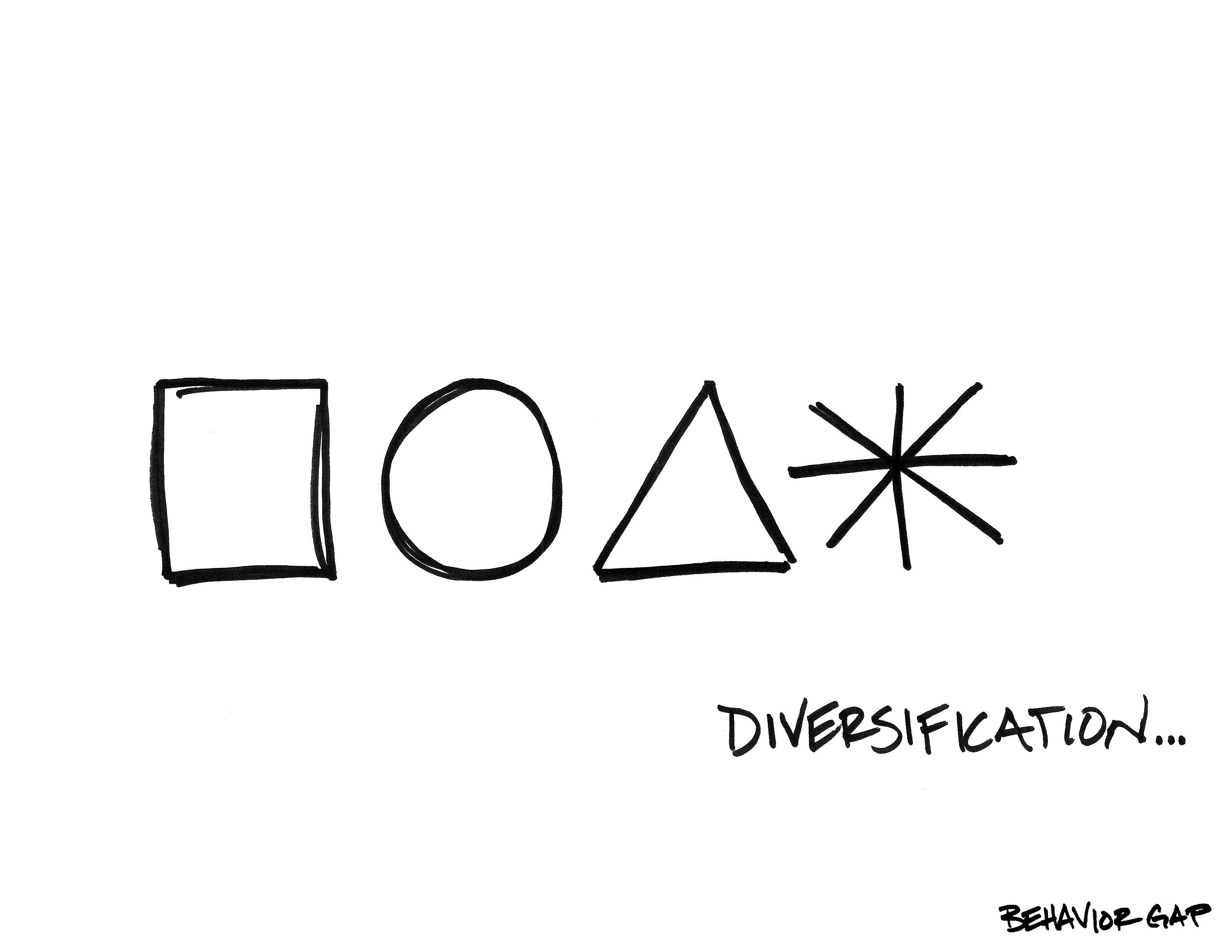 Carl Richards diversification