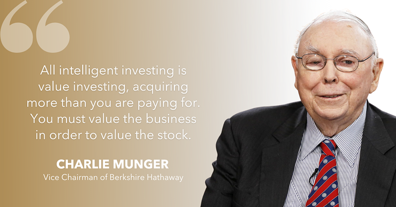 Charlie Munger value investing
