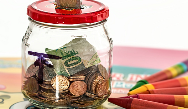 Saving part of your annual income for retirement