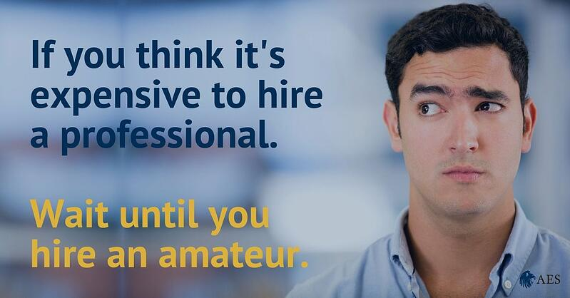 Hire an amateur
