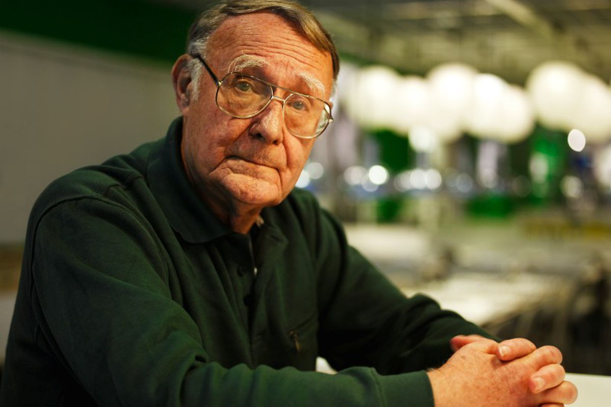 Ingvar Kamprad, Founder of IKEA