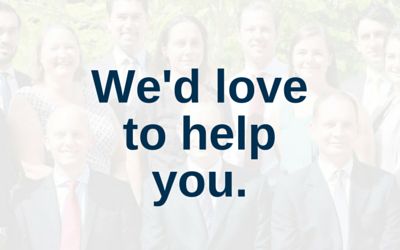 We'd love to help you