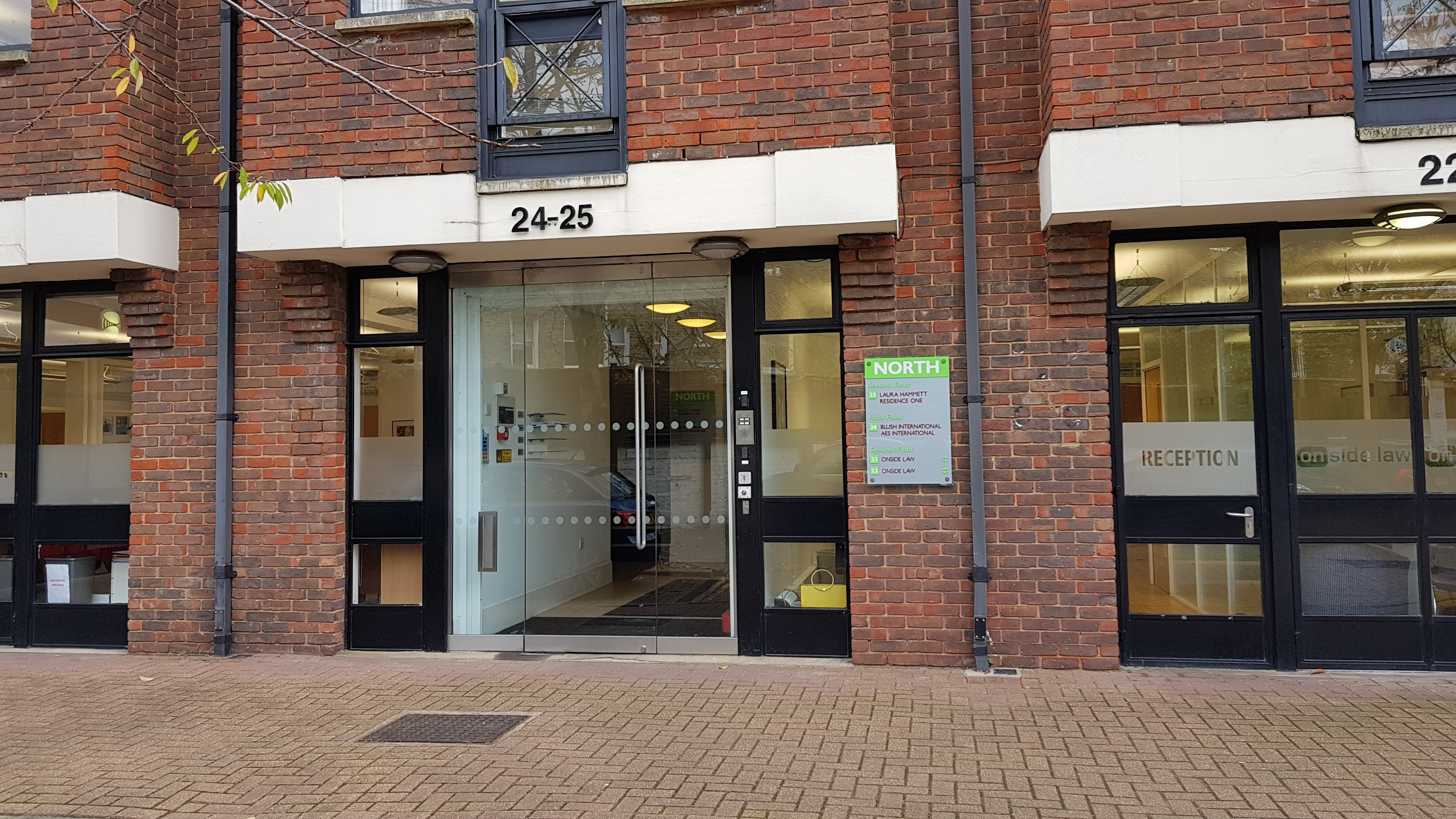AES International London office