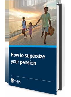 Supersize pension