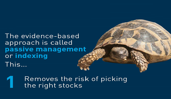 The evidence - based approach: passive management or indexing