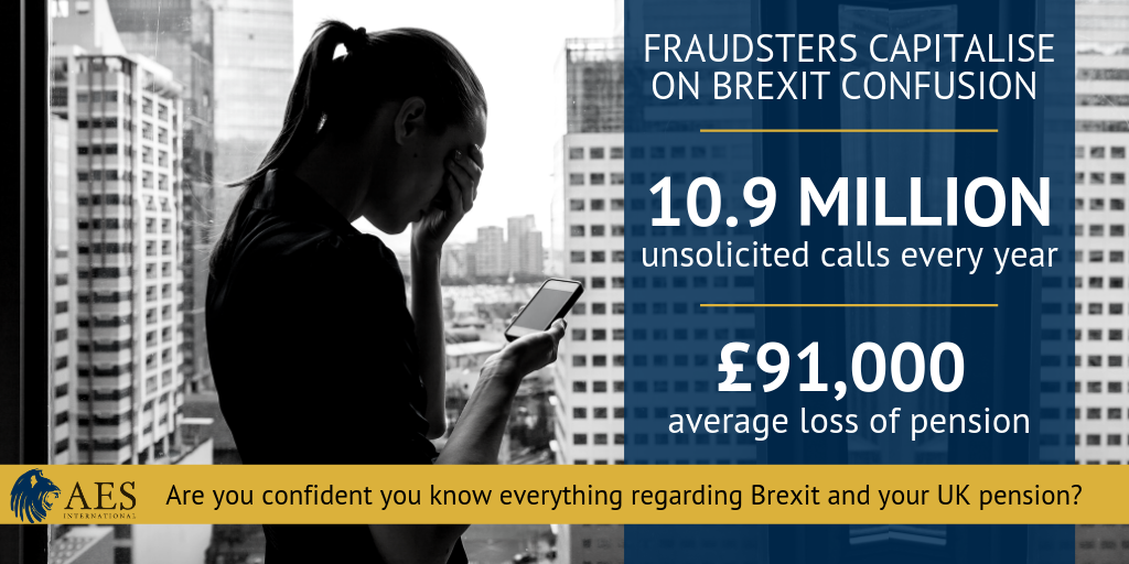 Fraudsters capitalise on brexit - Twitter