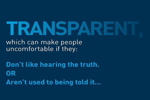 Bring more transparency to the financial services industry