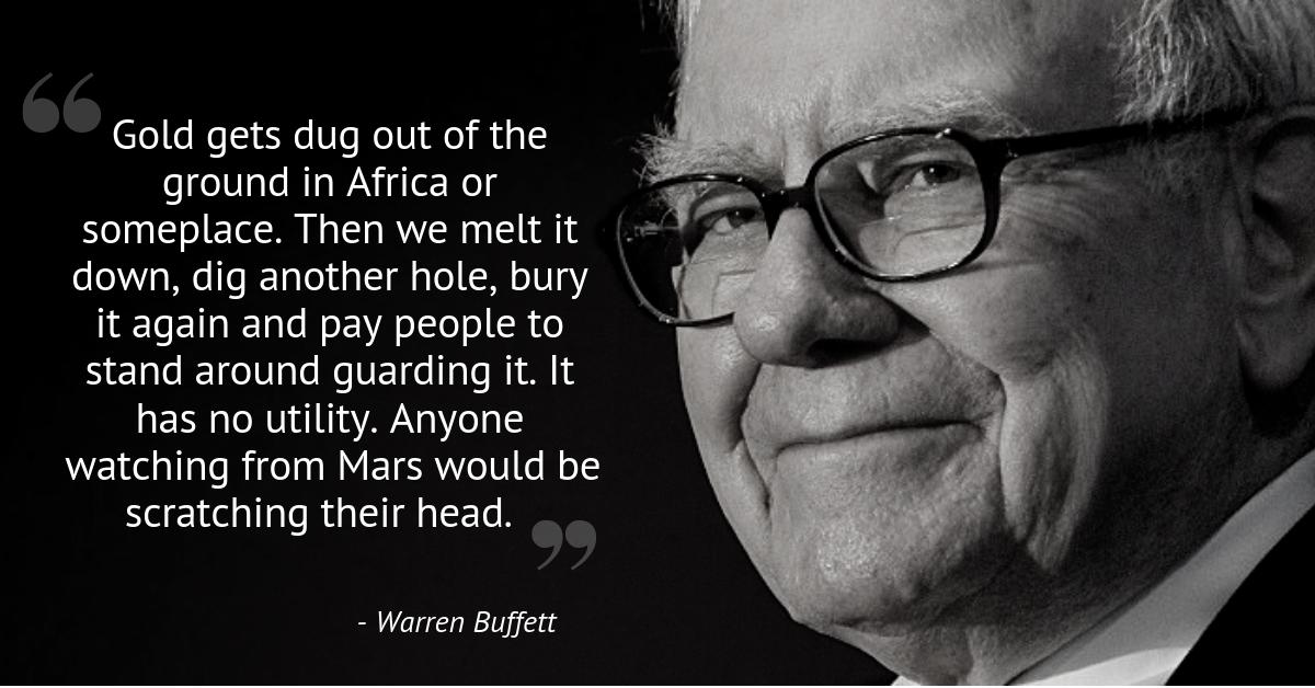 Warren Buffett - gold