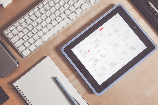 Set a meeting in your calendar