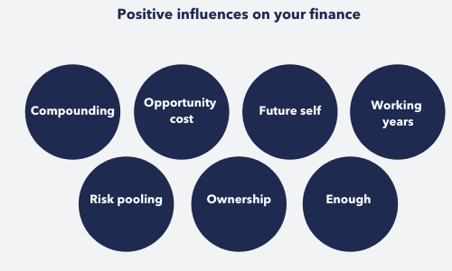 key positive influences on your financial planning