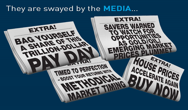 ignore the media and market noise as an investor