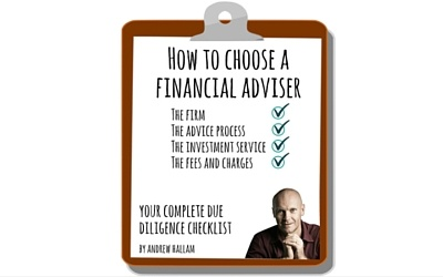 Checklist: How to choose a financial adviser