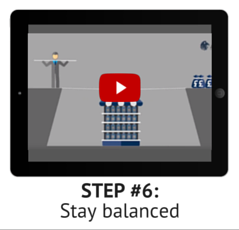 Step 6: Stay balanced